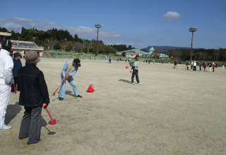正栄会杯グラウンド・ゴルフ大会
